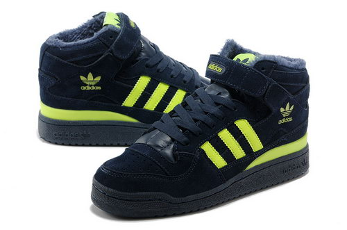 Adidas Forum Mid Womens & Mens (unisex) Dark Blue Green Factory Store