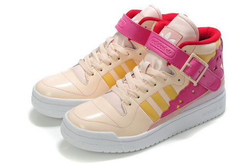 Adidas Forum Mid Womens Kawaii Pink Korea