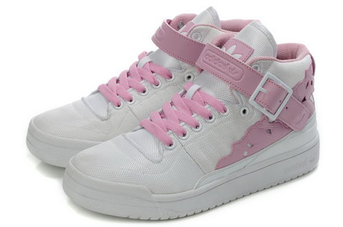Adidas Forum Mid Womens Kawaii White Pink Spain