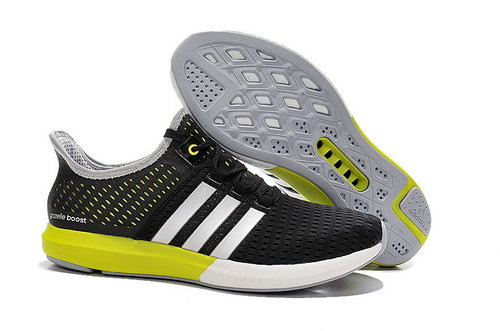 Mens Adidas Climachill Gazelle Boost Black & Fluorescent Yellow Norway