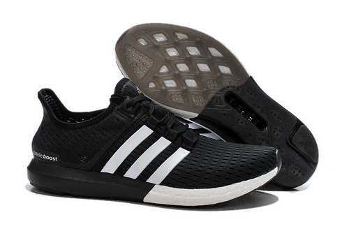 Mens Adidas Climachill Gazelle Boost Black & White France