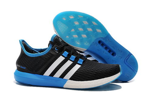 Mens Adidas Climachill Gazelle Boost Blue & Black Inexpensive