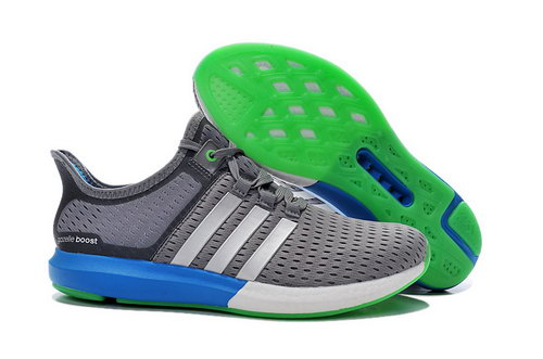 Mens Adidas Climachill Gazelle Boost Grey & Green Ireland