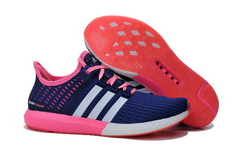 Womens Adidas Climachill Gazelle Boost Blue & Pink Japan