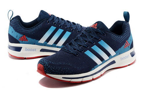 Adidas Ultra Boost Mens & Womens (unisex) Deep Blue & Red China