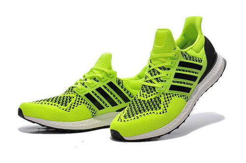 Mens Adidas Ultra Boost Fluorescent Green Uk