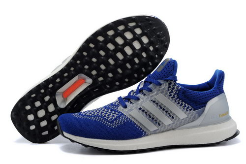Mens Adidas Ultra Boost Royal Blue White Greece
