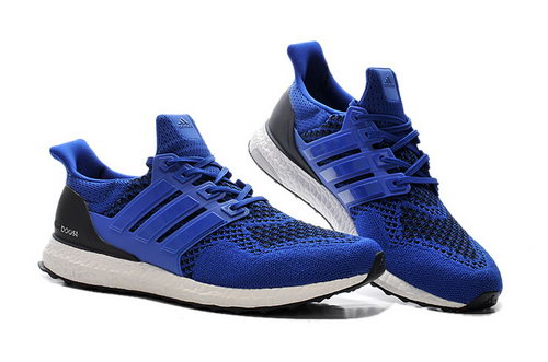 Mens Adidas Ultra Boost Deep Blue & Black Czech
