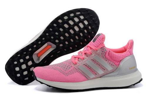 Womens Adidas Ultra Boost Pink & Silver Spain