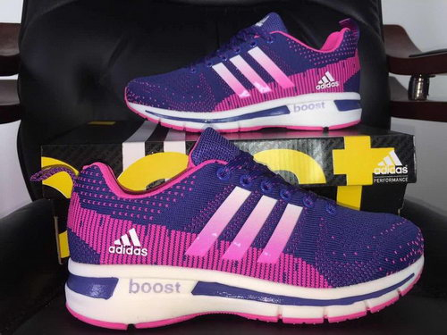Womens Adidas Ultra Boost Purple & Peach Norway