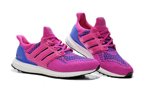 Womens Adidas Ultra Boost Deep Peach & Bluish Violet Wholesale