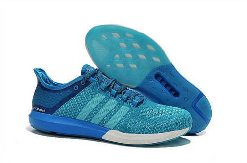 Mens Aidas Boost Clima Chill Lack Blue Reduced