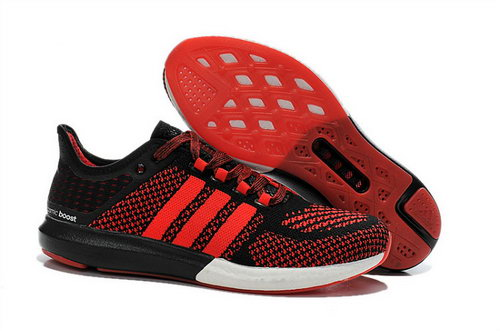 Mens Aidas Boost Clima Chill Red - Black Portugal