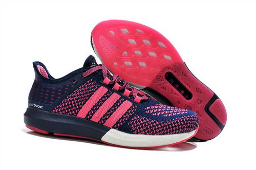 Womens Aidas Boost Clima Chill Rose Red - Purple Factory Outlet