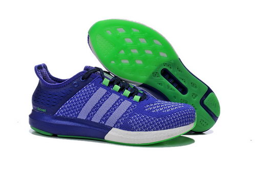 Womens Aidas Boost Clima Chill Light & Deep Purple - Green Online Store
