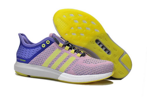 Womens Aidas Boost Clima Chill Pink - Purple - Yellow Poland