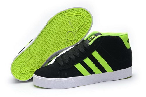 Adidas Neo High Mens & Womens (unisex) Black Green China