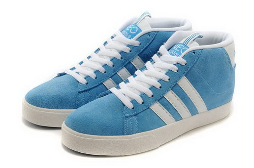 Adidas Neo High Mens & Womens (unisex) Blue White Outlet Online
