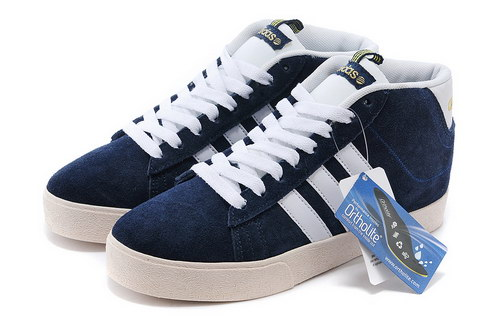 Adidas Neo High Mens & Womens (unisex) Dark Blue White Australia
