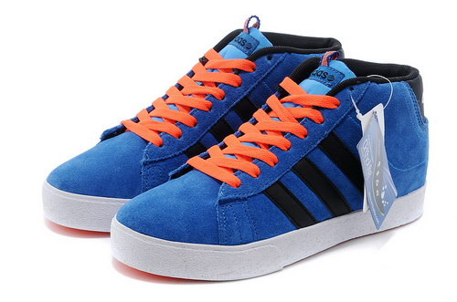 Adidas Neo High Mens & Womens (unisex) Light Blue Black Sale