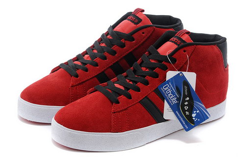 Adidas Neo High Mens & Womens (unisex) Red Black Low Cost