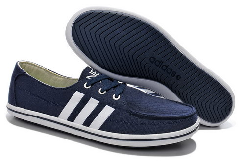 Mens Adidas Neo Lazy Dark Blue White Uk