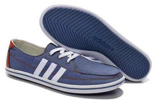 Mens Adidas Neo Lazy Denim Blue White Netherlands