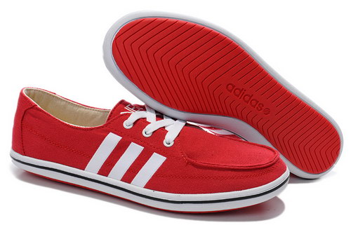 Mens Adidas Neo Lazy Red White Greece