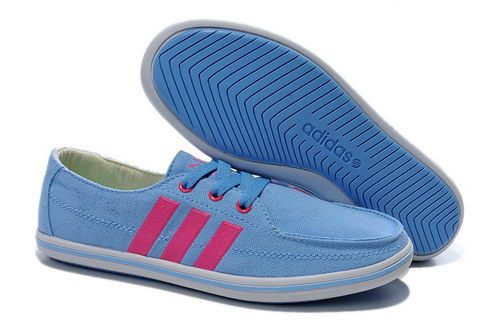 Womens Adidas Neo Lazy Blue Pink On Sale