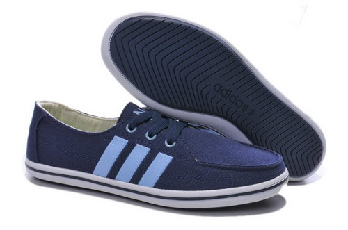 Womens Adidas Neo Lazy Dark Blue Factory Store
