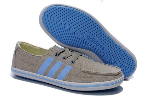Womens Adidas Neo Lazy Grey Blue Germany