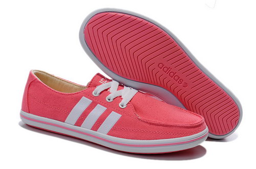 Womens Adidas Neo Lazy Pink White Discount