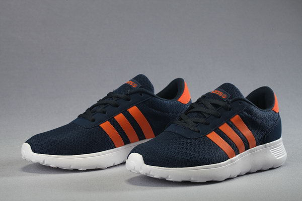 Adidas Neo Mesh Mens & Womens (unisex) Dark Blue Orange