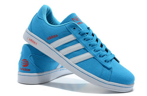 Mens Adidas Neo Skate Blue White Review