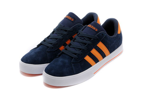 Adidas Neo Suede Mens & Womens (unisex) Blue Orange Clearance