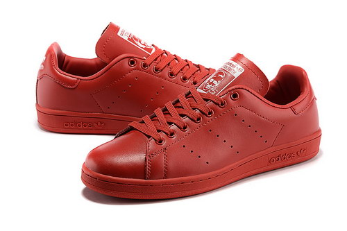 Womens Adidas Stan Smith Red Korea