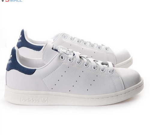 Womens Adidas Stan Smith White Blue Italy