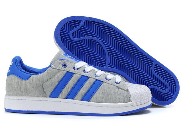 Adidas Superstar Ii Womens & Mens (unisex) Grey Blue Coupon Code