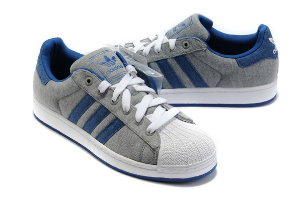 Adidas Superstar Ii Womens & Mens (unisex) Grey Dark Blue Outlet Online