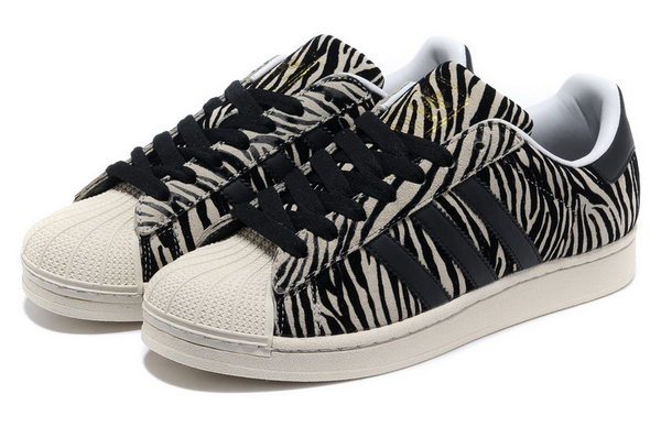 Adidas Superstar Ii Womens & Mens (unisex) Leopard Zebra Sale