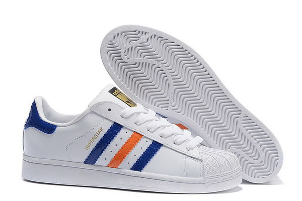 2ce414c30ea9 Adidas Superstar Mens   Womens (unisex) 3d Colorful White Blue Red Outlet
