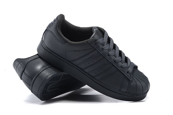 Adidas Superstar Mens & Womens (unisex) All Black Discount Code