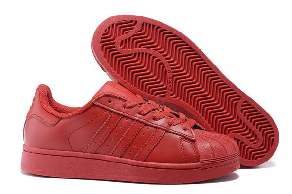 Adidas Superstar Mens & Womens (unisex) All Red Usa