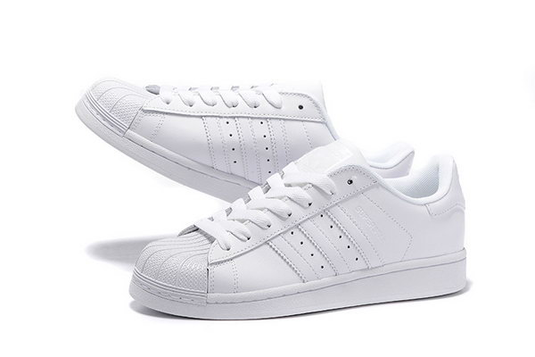 61a37fcb9b4 Adidas Superstar Mens   Womens (unisex) All White Low Price