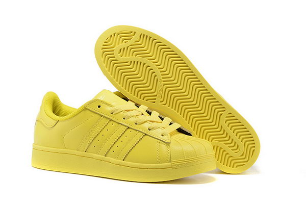 Adidas Superstar Mens & Womens (unisex) All Yellow Uk