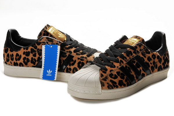 Adidas Superstar Mens & Womens (unisex) Beige Black Leopard Netherlands