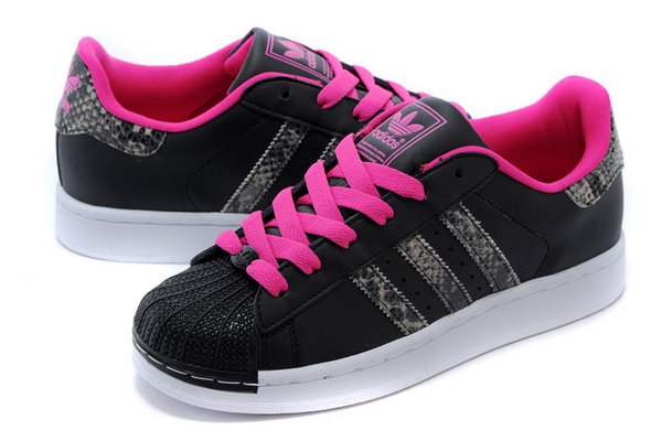 Adidas Superstar Mens & Womens (unisex) Black Pink Snake On Sale