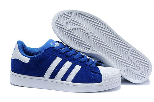 Adidas Superstar Mens & Womens (unisex) Blue White Wholesale