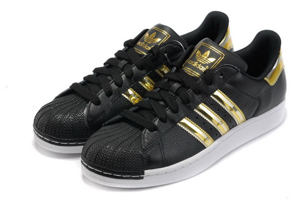 Adidas Superstar Mens & Womens (unisex) Colorful Black Gold Spain