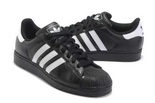 Adidas Superstar Mens & Womens (unisex) Leather Black White Sweden